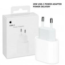 Apple оригинално бързо зарядно 220V, USB-C, 20W