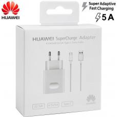 Huawei Super Charger зарядно 220V + кабел USB-A to USB-C